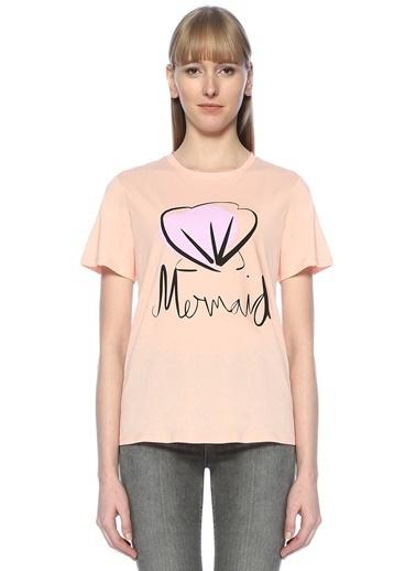 Tomorrowsland Baskılı Tişört Pembe